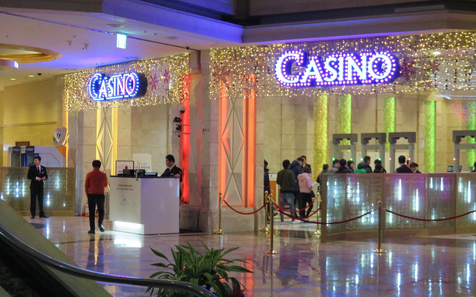 カジノ入口